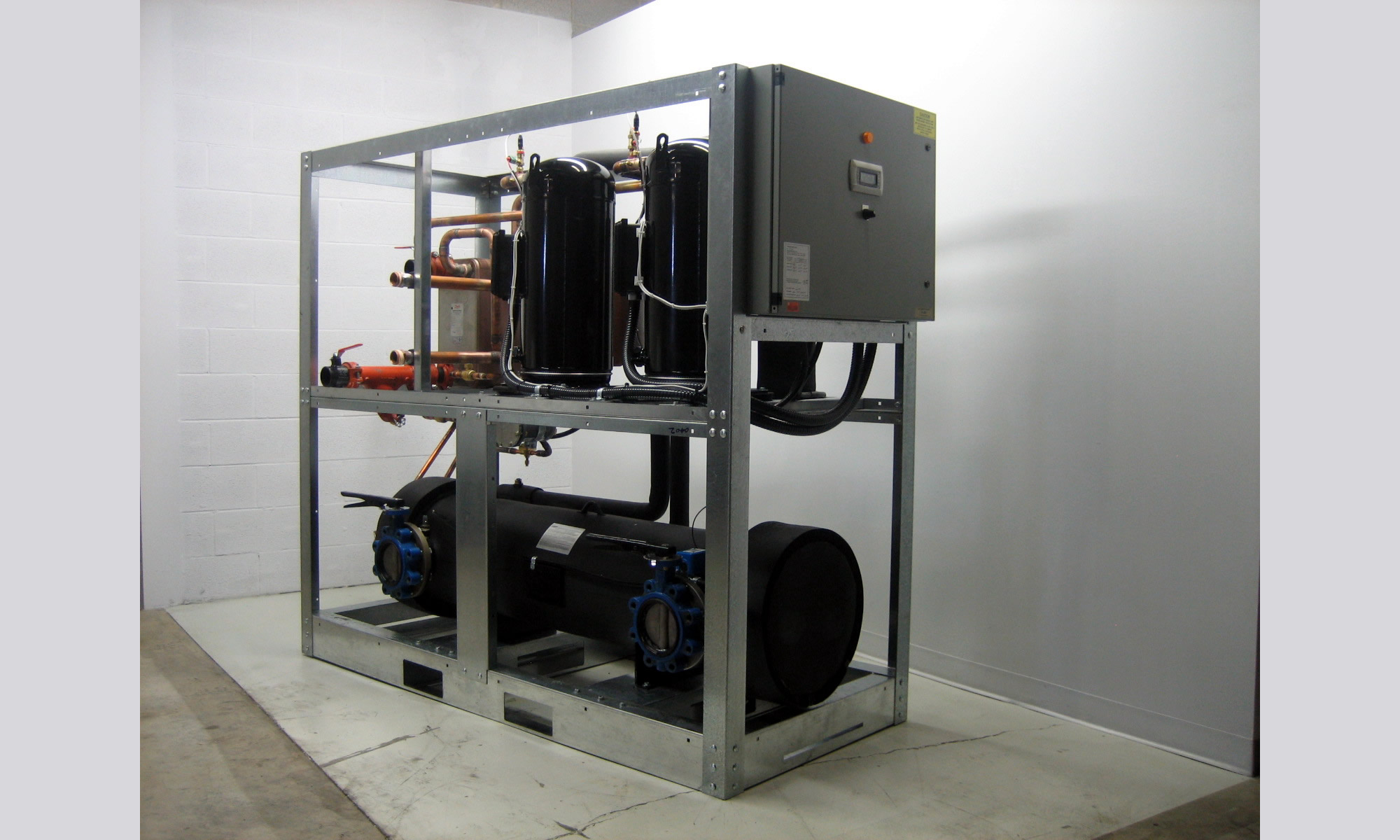 Chillers for Curling and Ice Rinks